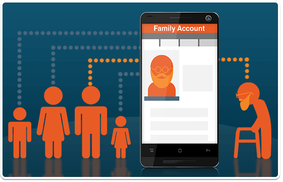 Manage the medication of other family members all from within your MedAdvisor account